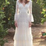 Wedding Dress Boho Bohemian Beautiful 2