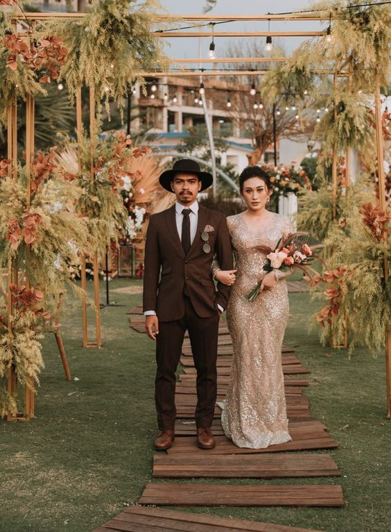 apa itu bohemian wedding