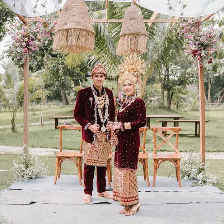 paket pernikahan palembang outdoor